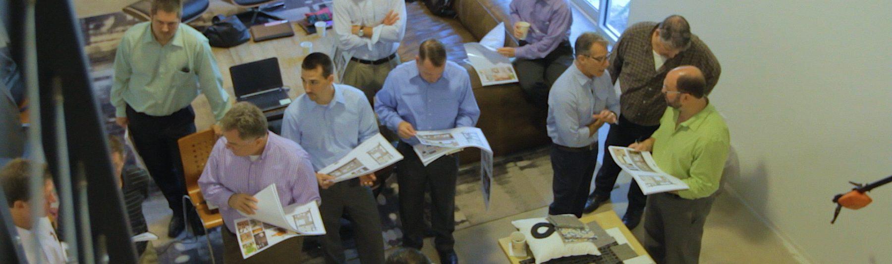 Mainsail Lodging & Development employees meeting