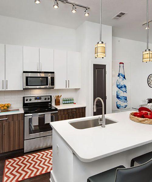 Oakwood Execustay kitchen