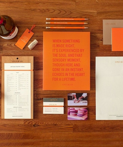 marketing & advertising promotional material on table