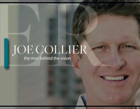 Joe Collier, the man behind the vision